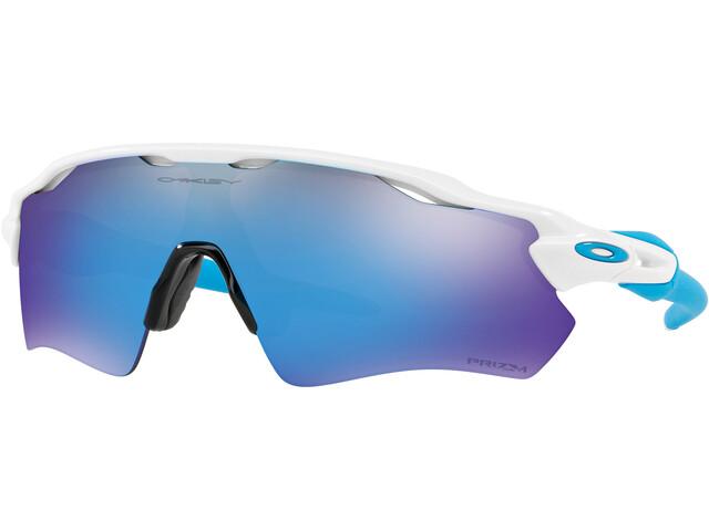 Oakley Radar EV Path Sunglasses Polished White/Prizm Sapphire